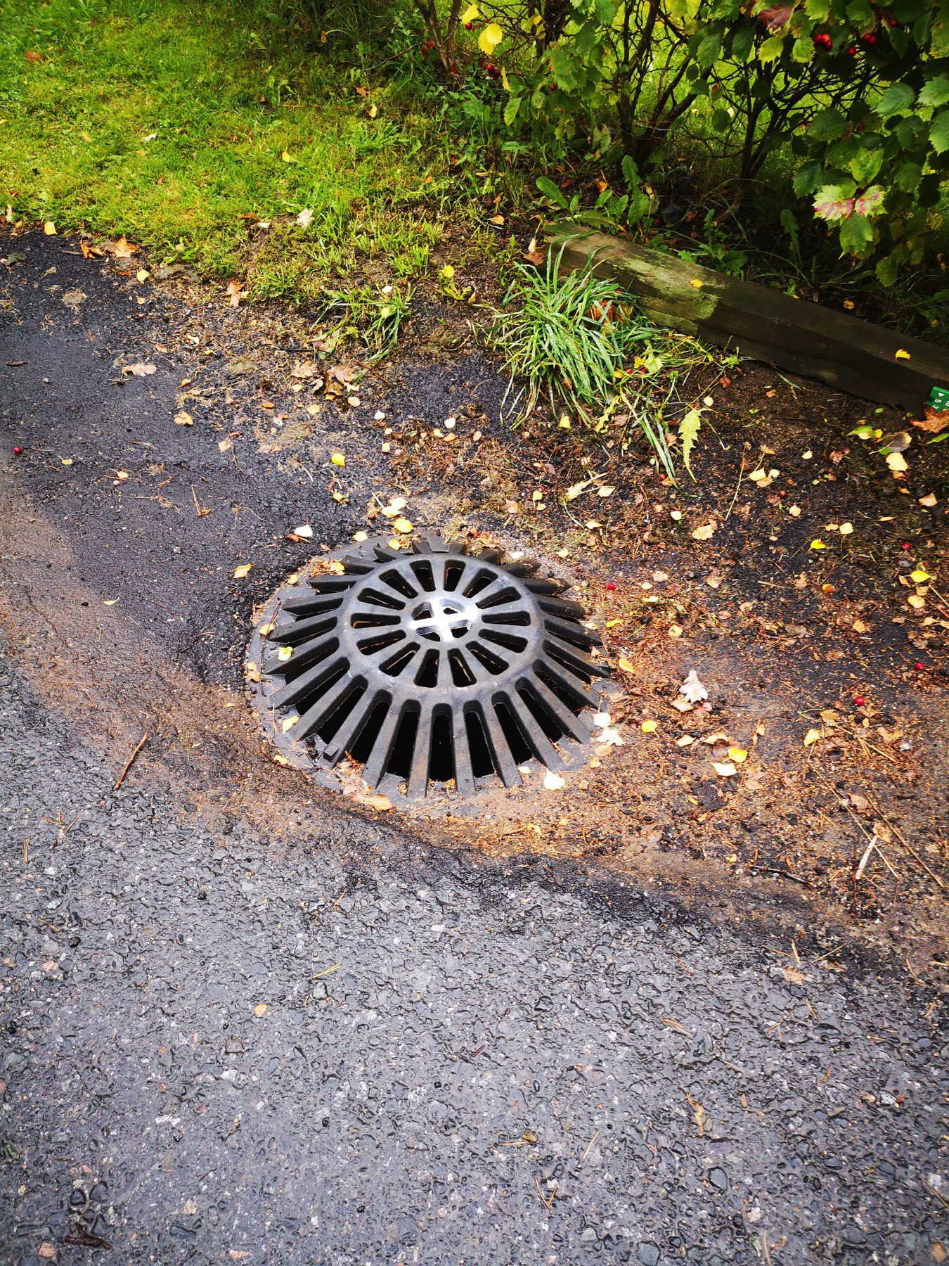 Drainage sewer grid